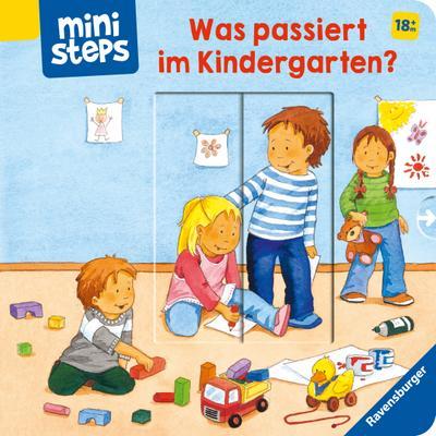 Was passiert im Kindergarten?