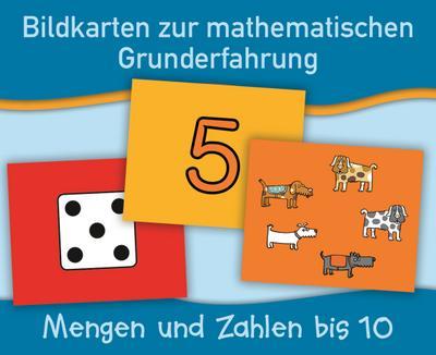 Mengen und Zahlen bis 10 (Bildkarten zur mathematischen Grunderfahrung) - Verlag An Der Ruhr - Karten, Deutsch, Anja Boretzki, ,