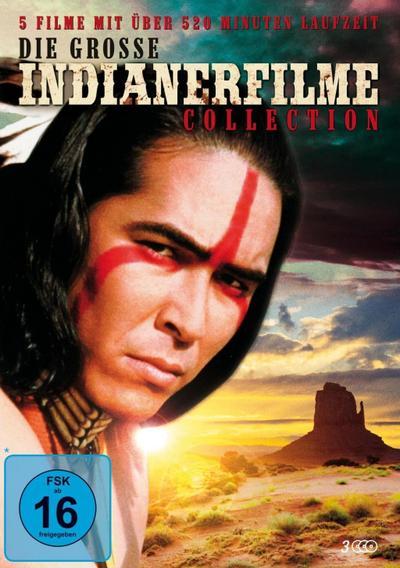 Die große Indianerfilme Collection, 3 DVD