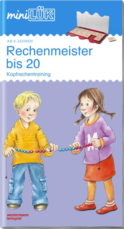 mini LÜK Rechenmeister bis 20