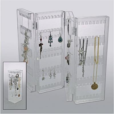 Schmucksständer Acryl für Ringe - Rewa Collection - , Deutsch, , Ideal für Ketten, Ringe, Ohrclips. Zusammenfaltbar, Ideal für Ketten, Ringe, Ohrclips. Zusammenfaltbar