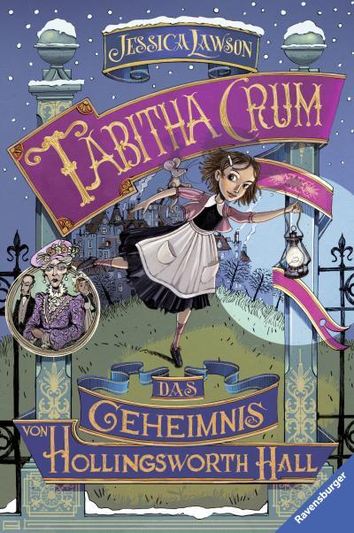 Tabitha Crum. Das Geheimnis von Hollingsworth Hall; HC - Kinderliteratur; Ill. v. Bruno, Iacopo; Übers. v. Orgaß, Katharina; Deutsch; mit schw.-w. Ill.