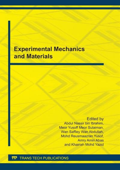 Experimental Mechanics and Materials