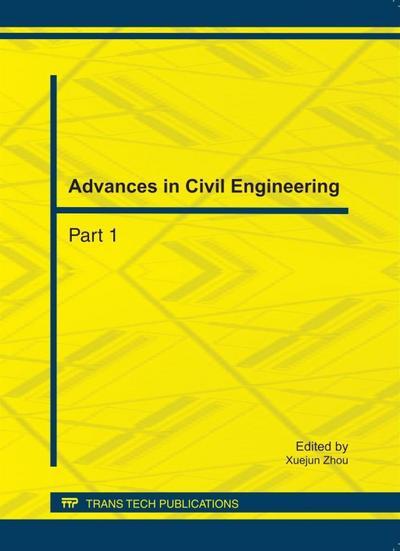 Advances in Civil Engineering, ICCET 2011