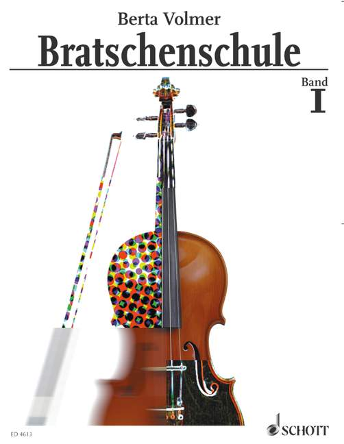 Bratschenschule. Bd.1 Berta Volmer