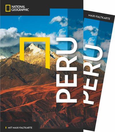 NATIONAL GEOGRAPHIC Reiseführer Peru mit Maxi-Faltkarte