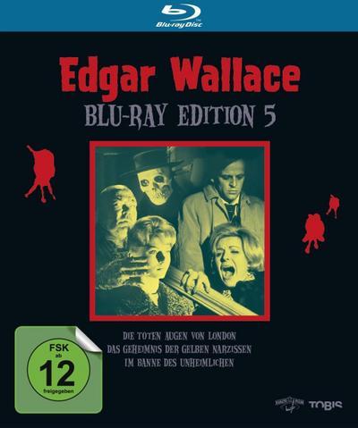 Edgar Wallace Edition 5 Bluray Box