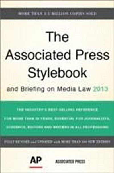The Associated Press Stylebook and Briefing on Media Law (Associated Press Stylebook & Briefing on Media Law) - Basic Books - Taschenbuch, Englisch, , ,