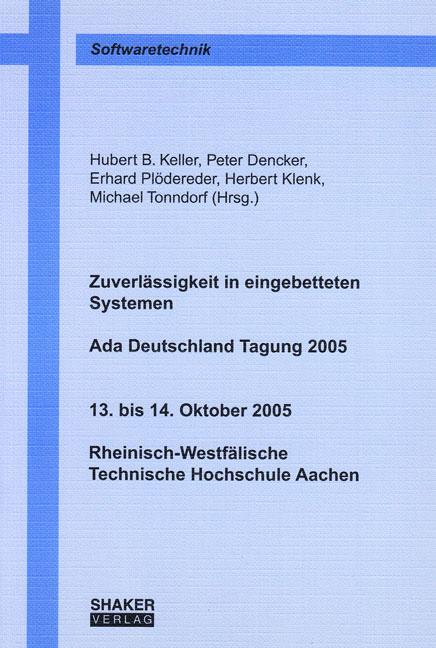 Zuverlässigkeit in eingebetteten Systemen Hubert B. Keller