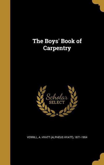 BOYS BK OF CARPENTRY