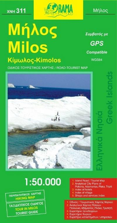Milos / Kimolos 1 : 50 000