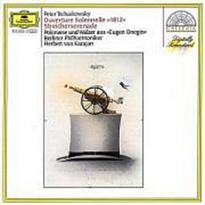 """Tchaikovsky: Overture Solennelle """"1812"""" / Serenade For Strings"""