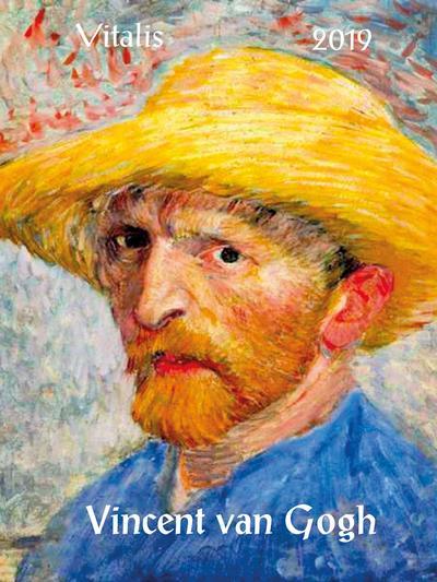 Vincent van Gogh 2019: Minikalender - Vitalis - Kalender, Deutsch| Englisch, Vincent van Gogh, Minikalender, Minikalender