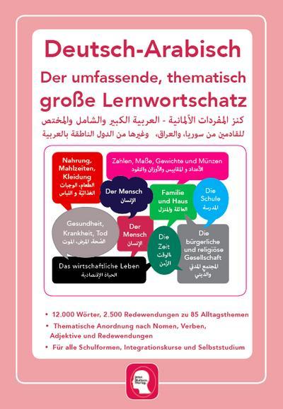 Umfassender thematischer Großlernwortschatz - Deutsch-Arabisch