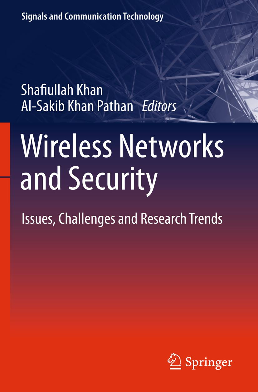 Wireless Networks and Security | Shafiullah Khan |  9783642361685