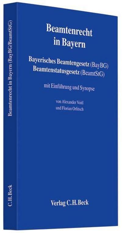 Beamtenrecht in Bayern