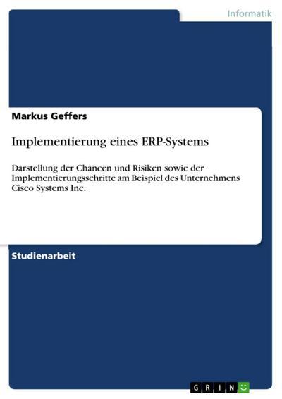 Implementierung eines ERP-Systems