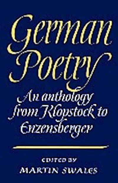 German Poetry
