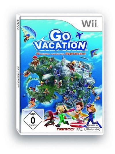Go Vacation, Nintendo-Wii-Spiel