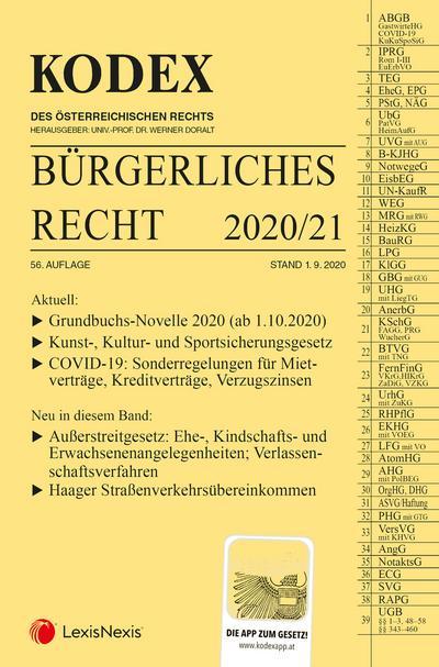KODEX Bürgerliches Recht 2020/21