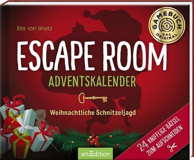 Escape Room Adventskalender. Weihnachtliche Schnitzeljagd