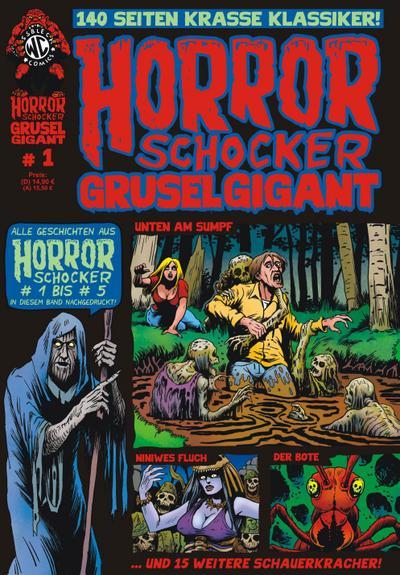 HORRORSCHOCKER Grusel Gigant. Bd.1