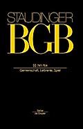 BGB §§ 741-764. (Gemeinschaft, Leibrente, Spi ...
