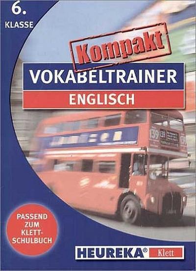 Kompakt Vokabeltrainer Englisch. 6. Klasse. CD-ROM für Windows ab 3.1