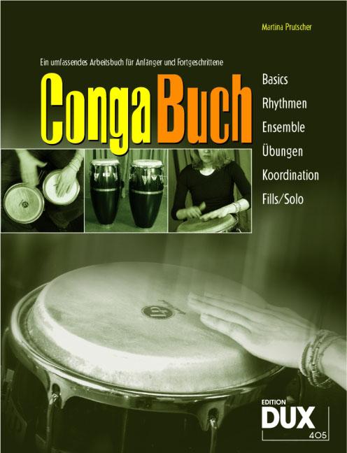 Conga-Buch, m. Audio-CD Martina Prutscher