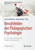 Berufsfelder der Pädagogischen Psychologie