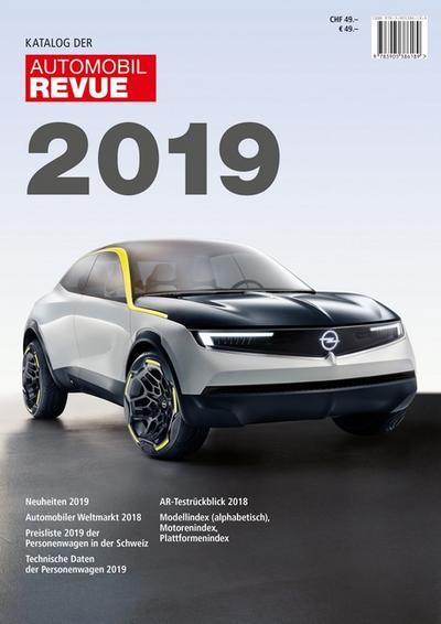 Katalog der Automobil-Revue 2019
