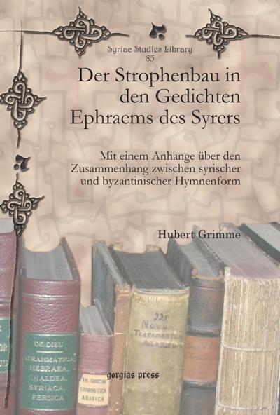 Der Strophenbau in den Gedichten Ephraems des Syrers