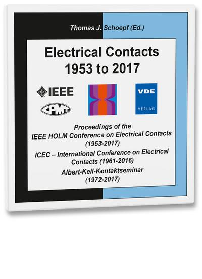 Electrical Contacts 1953 to 2017, 1 DVD-ROM