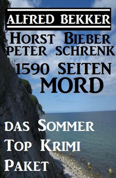 1590 Seiten Mord - Das Sommer Top Krimi Paket