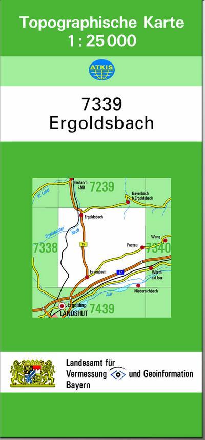Ergoldsbach 1 : 25 000