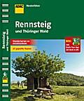 ADAC Wanderführer Rennsteig & Thüringer Wald; ...