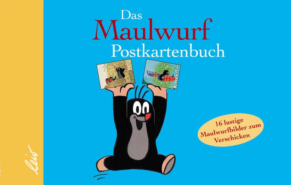 Das Maulwurf Postkartenbuch Zdenek Miler