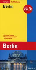 Falk Stadtplan Falkfaltung Berlin, 1: 24 500-1:40 000