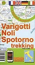 Varigotti, Noli, Spotorno Trekking Karte  1:8 ...