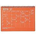 MARK'S 2019 Tischkalender S Orange