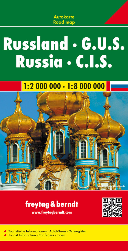 Russland GUS 1 : 2 000 000 / 1 : 8 000 000,