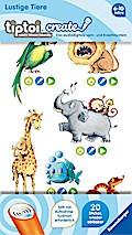 tiptoi® CREATE Sticker Lustige Tiere