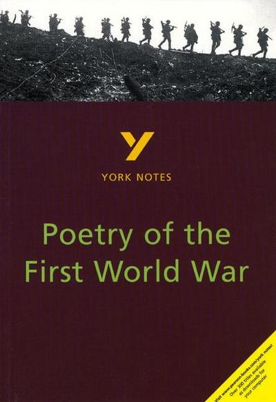 Poetry of the First World War: York Notes for GCSE - Pearson Education Limited - Taschenbuch, Englisch, Hana Sambrook, ,