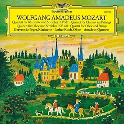 Mozart, W.A.: Clarinet Quintet In K, K.581, Oboe Quartet In F, K.370