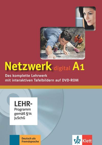 Netzwerk A1. Digitales Unterrichtspaket. DVD-ROM