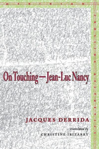 On Touching--Jean-Luc Nancy