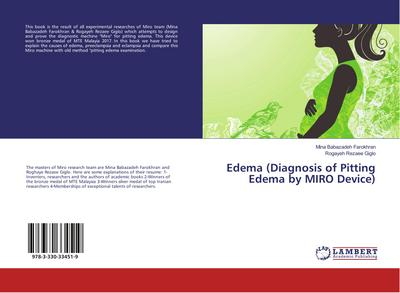 Edema (Diagnosis of Pitting Edema by MIRO Device)