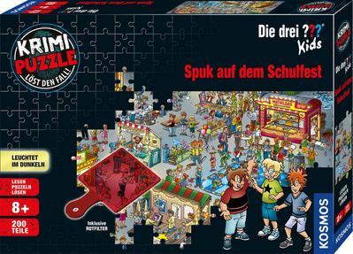Krimipuzzle ??? Kids - Spuk auf dem Schulfest (Kinderspiel)