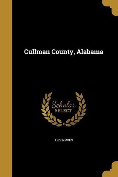 CULLMAN COUNTY ALABAMA
