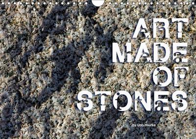 Art made of Stones (Wall Calendar 2019 DIN A4 Landscape)